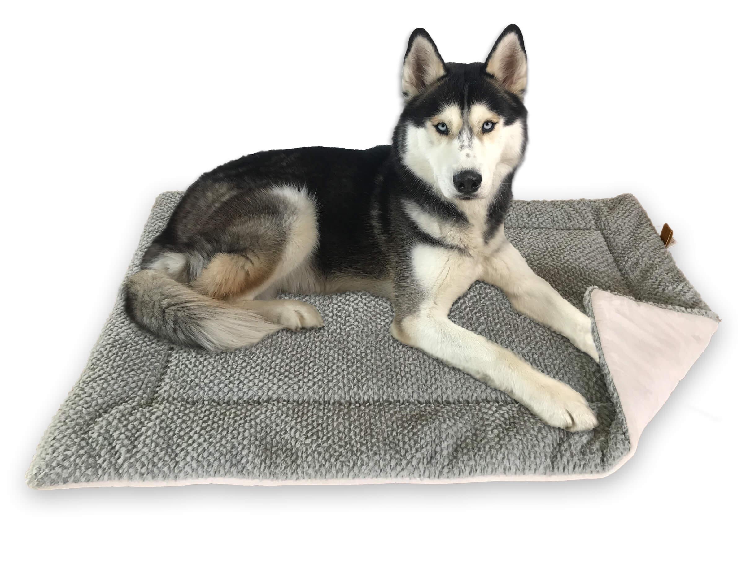Fluffino Hundedecke in Grau